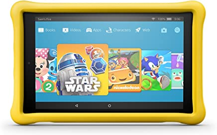 "Fire HD 10 Kids Edition Tablet, 10.1"" 1080p Full HD Display, 32 GB, Yellow Kid-Proof Case"