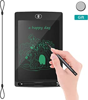 """LCD Writing Tablet Drawing Board - Electronic Writing Board, 8.5""""Handwriting Tablet,Fridge Memo Note Pad for Kids/Adults at Home,School,Office(Black)"""