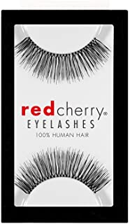 RED CHERRY 100% HUMAN HAIR EYELASHES #82