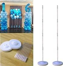 Luftballon Bogen Set für Hochzeit Wohndeko Plastik Tisch Clips Klemme Stange DIY