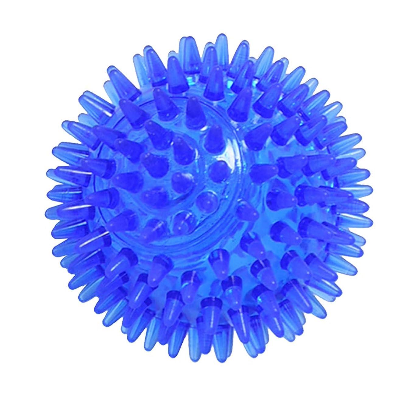 農業適応的行列D DOLITY マッサージボール ヨガボール 3サイズ選べ - 青, 7cm
