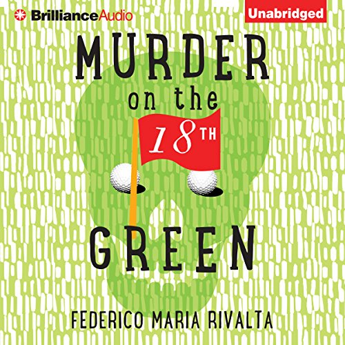 Murder on the 18th Green audiobook cover art