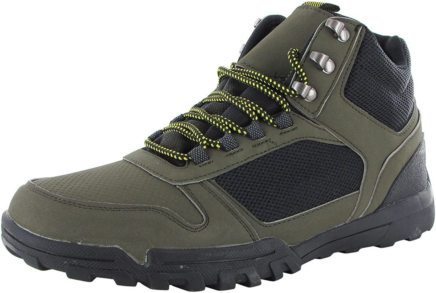 Steve Madden Mens Mounted High Top Hiking shoes