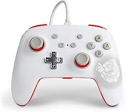 Powera 1518385-01 Controle P/ Nsw Wired Controller Mario White com Fio - Nintendo Switch
