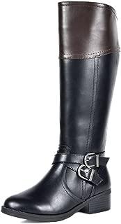 Women's Knee High Riding Boots Wide Calf