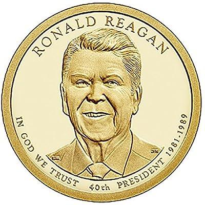 2016 P, D 2 Coin - Ronald Reagan Presidential Uncirculated