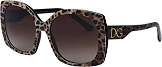 Dolce & Gabbana Occhiali da Sole PRINT FAMILY DG 4385 Leo Brown/Brown Shaded 58/18/145 donna