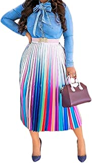 Women's Sexy Button Down Stretchy Straight Leg High Waisted Long Pants Flare Trousers Plus Size