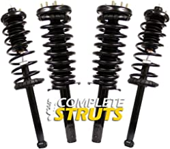 Front & Rear Quick Complete Struts & Coil Spring Assemblies Compatible with 1998-2002 Honda Accord (Set of 4)
