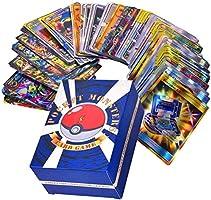 120 Stks Pokemon Card Set, Verschillende Cartoon Game Card, Kinderen GX Trading Cards Inclusief 30 Stks Team Up + 50...
