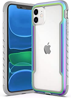 Saikee Compatible with iPhone 11 Cases, Clear iPhone 11 Cases with Edge Shockproof Protection, TPU Protective Case Cover for Apple iPhone 11 (Iridescent)