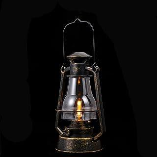 FRCOLOR Outdoor Garden Hanging Lanterns Waterproof LED Flickering Flameless Candle Mission Lights Solar Lanterns