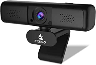 2K 4MP Zoomable Webcam with Privacy Cover & Dual Microphone, 3X Digital Zoom, 95-Degree Viewing, 2021 NexiGo Quad HD Busin...