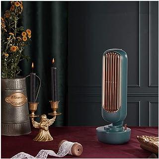 Torre de ventilador de escritorio USB silencioso fuerte viento 2 en 1 de pulverización de agua del ventilador del acondicionador de aire de ventilación Los aficionados (Color : Verde)