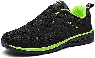 Chaussures respirantes pour homme avec chaussures décontractées en maille pour le travail - Chaussures de travail légères ...