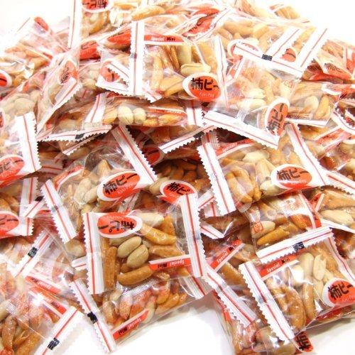 国産柿の種とピーナッツの小袋柿ピーピロ 1kg業務用パック