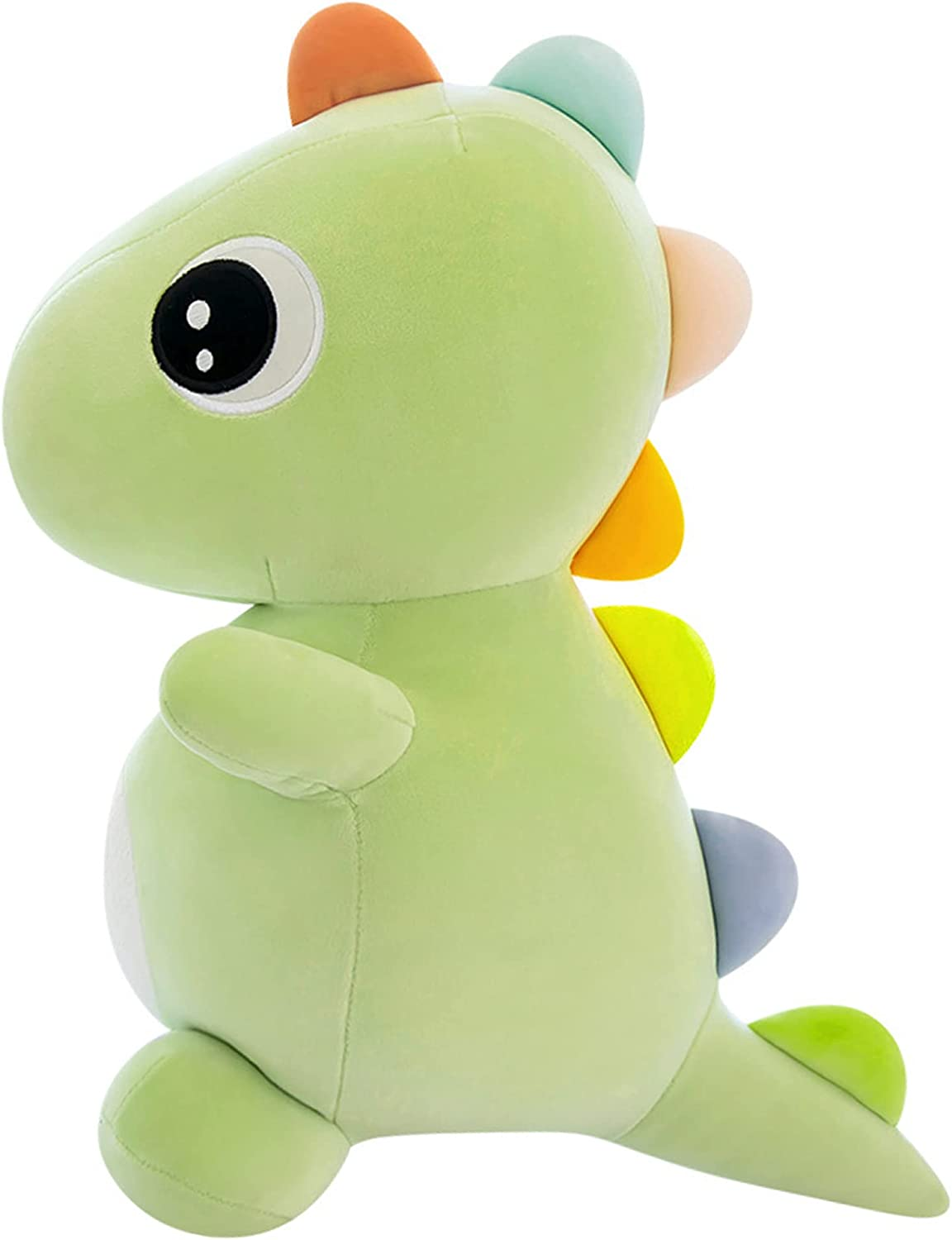 Locmetur Dinosaur Plush Toys for Kid 3-5 Green Dino Plushie for Toddlers Soft Stuffed Animals Plushies Doll Perfect Present for Babies Birthday Gifts for Kids Girls Boys Christmas Home Decoration