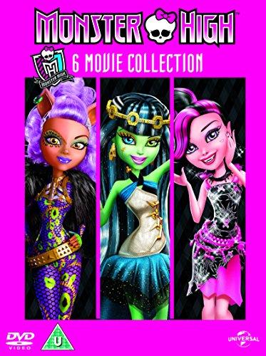 Monster High (5 Dvd) [Edizione: Regno Unito] [Reino Unido]