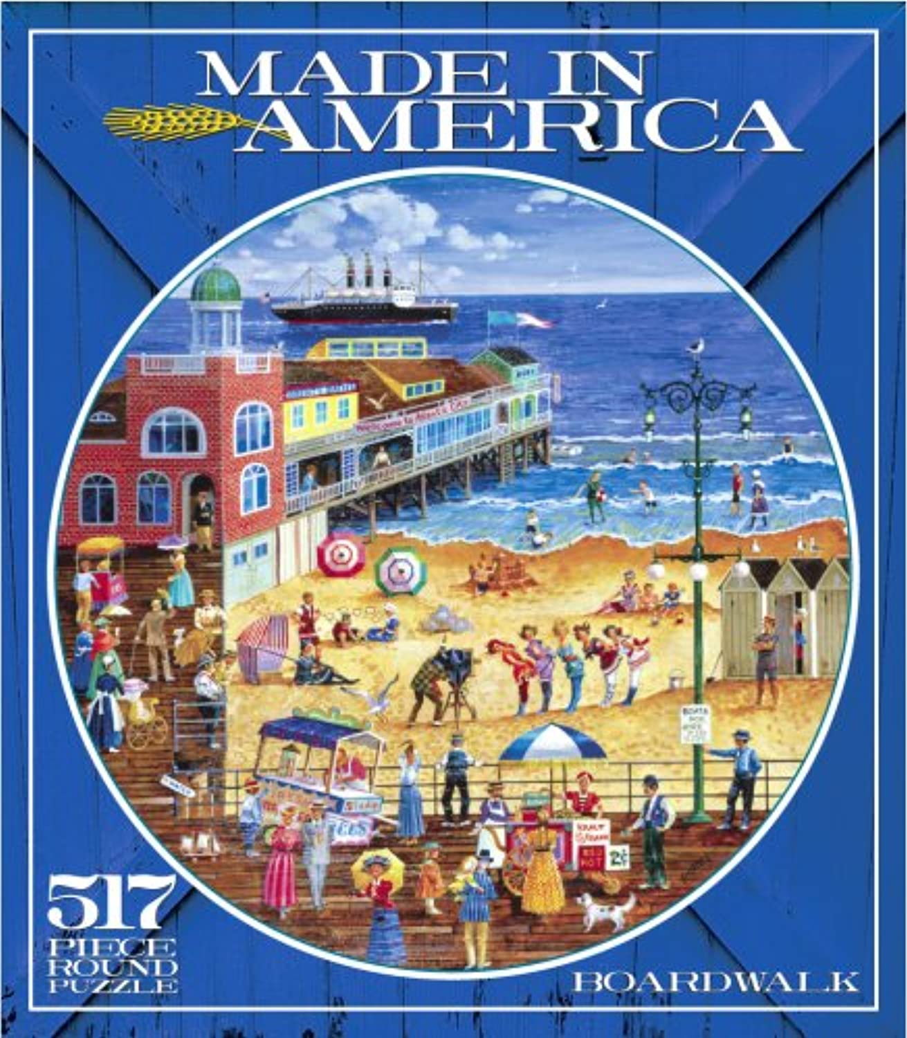 500+ Piece Made in America Puzzle