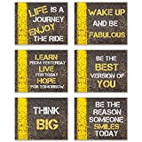 GREAT GIFT IDEA: Promote Inner Happiness. Perfect for self, friends, family, co-workers and enthusiasts. WALL ART: Artwork that brings to life and promotes inner strength and goodness in any room of your home or workspace. Unique, Bold, and Makes a S...