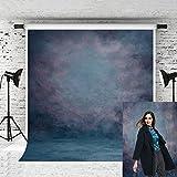 Kate 5x7ft Blue Backdrop Portrait Photo Backdrops Old Master Backgrounds for Photographers