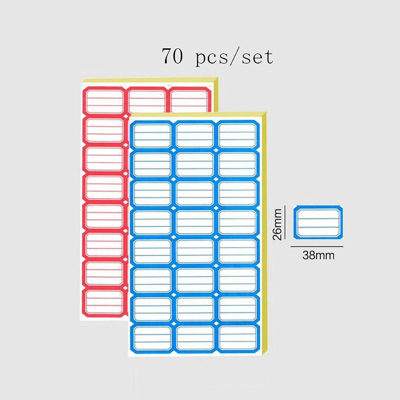 Liu Liu Liu Yu·Büroflächen, Bürobedarf rot und blau selbstklebende Aufkleber Etikettenpapier Etikettenaufkleber 2 Set B06XR97YR9   Verschiedene aktuelle Designs  db2835
