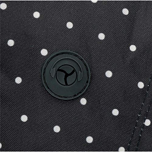 61K4Ci+nnRL - Pepe Jeans Armade - Mochila con Doble Cremallera, 45 cm, Negro