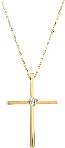 Versace - Cross Pendant Necklace