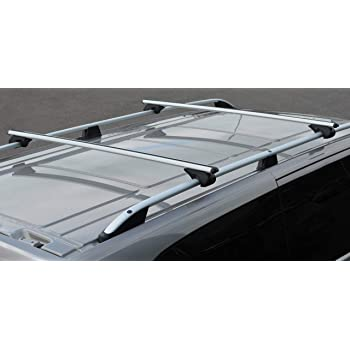 Alvm Parts Zubehör Querträger Für Dachreling Für T5 Transporter 03 15 100 Kg Abschließbar Auto