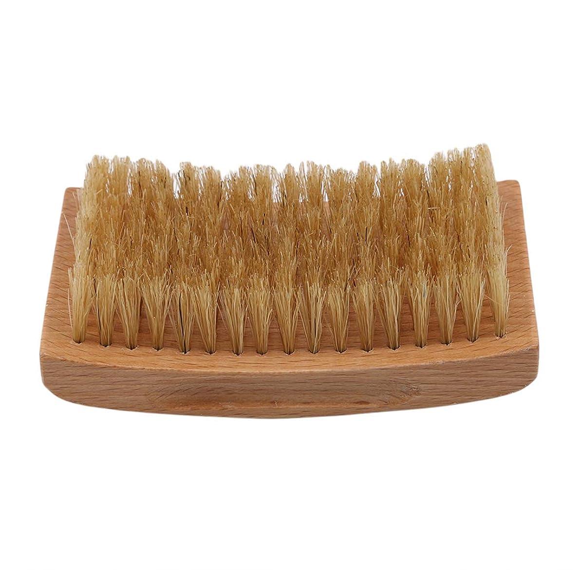 ブランクつばシチリアKLUMA ひげブラシ シェービングブラシ 理容 洗顔 髭剃り 泡立ち 洗顔ブラシ 1#
