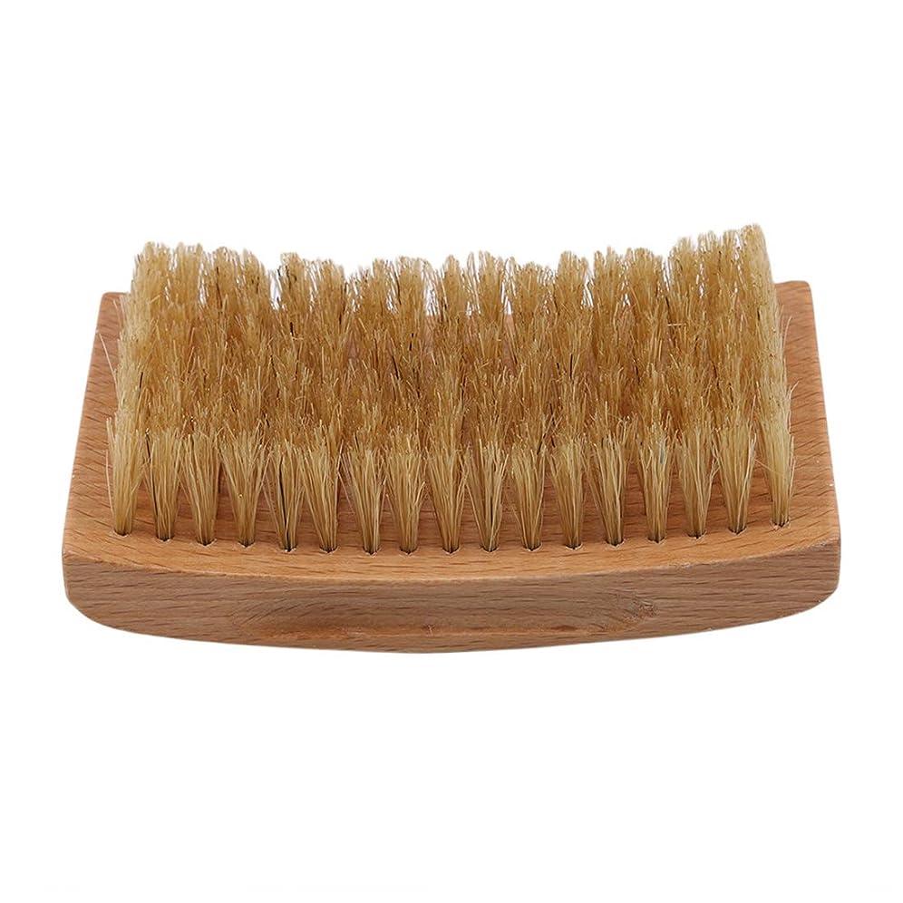追記目覚める覚えているKLUMA ひげブラシ シェービングブラシ 理容 洗顔 髭剃り 泡立ち 洗顔ブラシ 1#