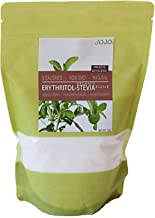 Erythritol Stevia Blend Keto Paleo Sweetener, 0g Net Carbs, 226 servings. Perfect for baking sugar free recipes + 5 Sugar Free Recipes Included With Your Order