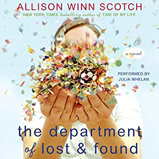 The Department of Lost & Found audiobook cover art