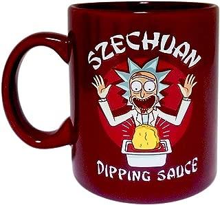 Rick and Morty Szechuan Dipping Sauce Mug Ceramic Coffee Mug, 16 oz