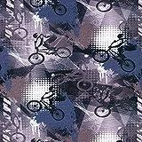 French Terry BMX Bikestar - Precio para 0,5 metros