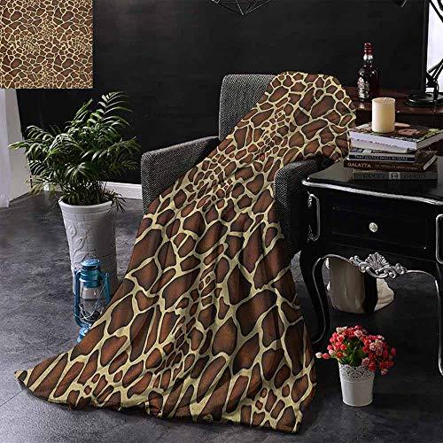 ZSUO bont deken Young Fashion Vrouw Portret met Abstract Details op Oranje Krullend Haar en Oorbellen Camping deken - het gooien van een deken