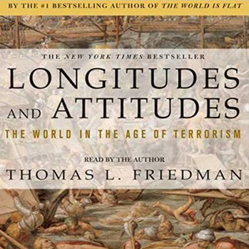 Longitudes & Attitudes audiobook cover art