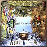 Heaven And Earth Designs(HAED) 刺繍 クロスステッチ 図案 Four Seasons [並行輸入品]