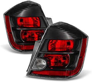 ACANII - For 2007 2008 2009 Nissan Sentra Tail Lights Brake Lamps Replacement 07-09 Left+Right