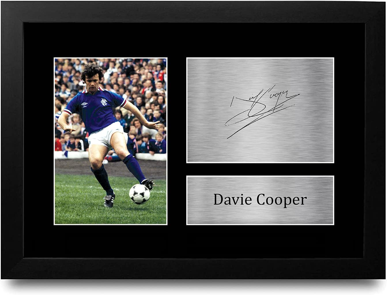 HWC Trading A4 supreme FR Davie Max 54% OFF Cooper Printed Rangers Signed Gifts Auto