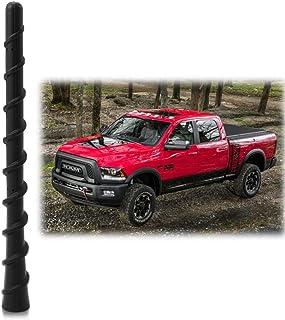 Antenna Mast Perfect Replacement Screw Thread Antenna Fit Dodge Ram 1500 2500 3500 Truck Stubby Antenna Accessories 2009-2...