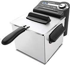 Taurus Professional 2 - Freidora professional, 1700 W, capacidad de 2 l, regulador de temperatura, Negro/Plata