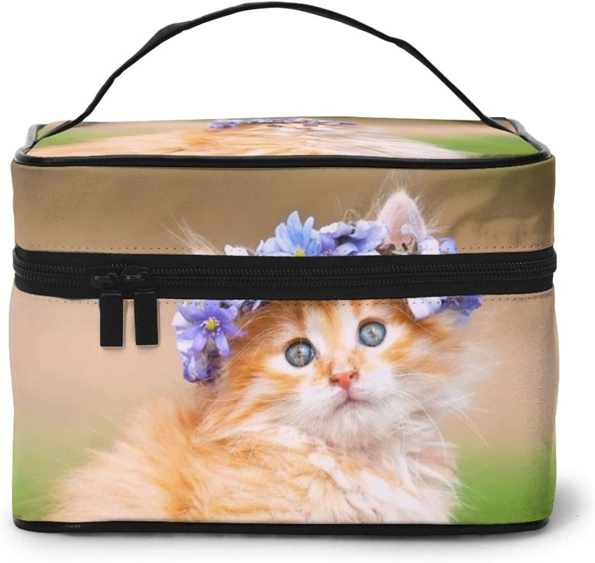 Max Max 56% OFF 77% OFF Cute Kitten Adorable Hairband Make Cosmetic Bagtravel Reusable