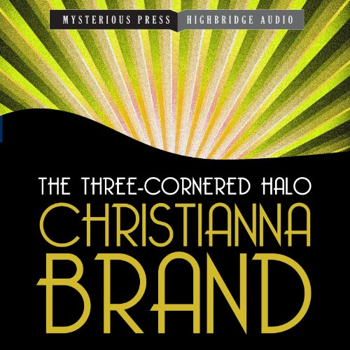 The Three-Cornered Halo audiobook cover art