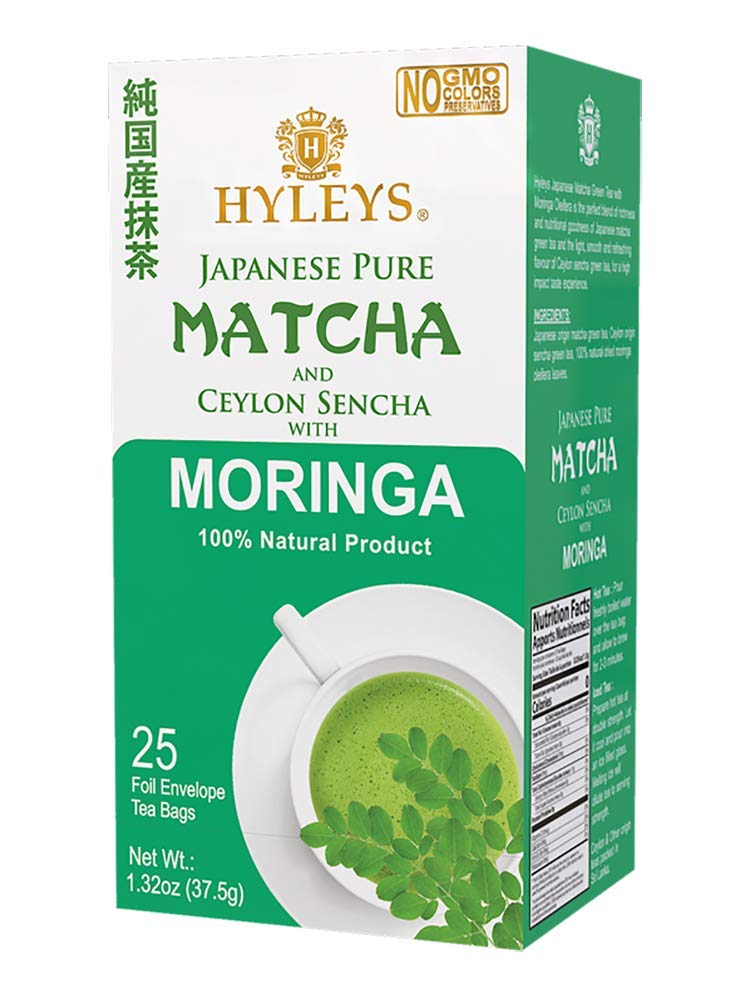 Hyleys Wellness Japanese Pure Matcha NEW before SEAL limited product selling ☆ Green Tea Moring Original