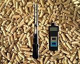 Medidor de humedad residual para virutas y pellets