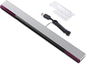 CAVN Barre de Détection Compatible avec Wii, Barre de Détection Filaire à Infrarouge Compatible avec Nintendo Wii et Conso...