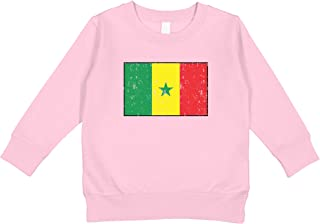 Amdesco Flag of Burkina Faso Burkinese Toddler Raglan Shirt