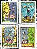 Prophila Collection Hungría 4190-4193 (Completa.edición.) 1992 Expo (Sellos para los coleccionistas)