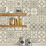 Retro Self -Adhesive Tiles and Wall Stickers Anti Oil Waterproof Tiles Kitchen Bathroom Decoration...